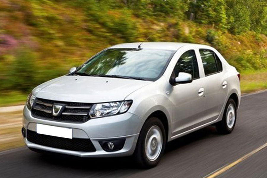 Dacia Logan in Chirie