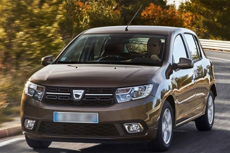 Dacia Sandero in Chirie